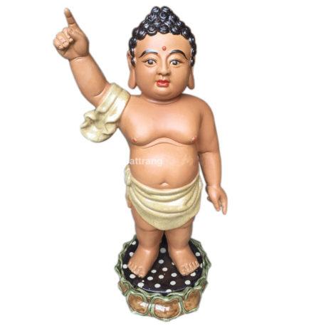 Tượng Phật Đản Sinh – cao 50cm
