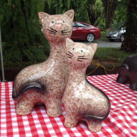 Bộ mèo đôi gốm sứ cao cấp 2