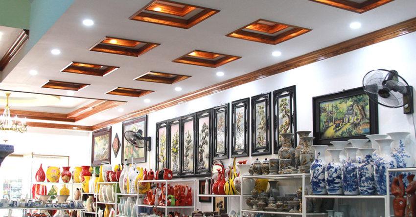 Cửa hàng gốm sứ Bát Tràng 3